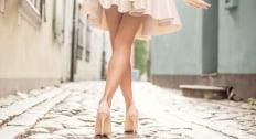 脚が見えるスカートを堂々と履けるようになった